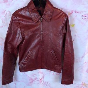 Trafaluc 6 Jacket Leather Zara